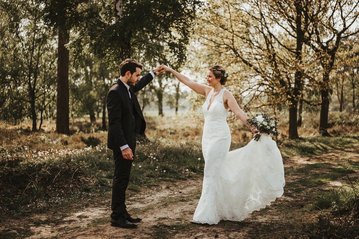 First Look Shooting Rhede Hochzeitsfotografie