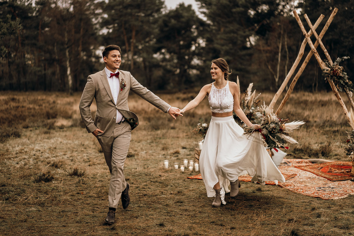 wedding styled shooting winter