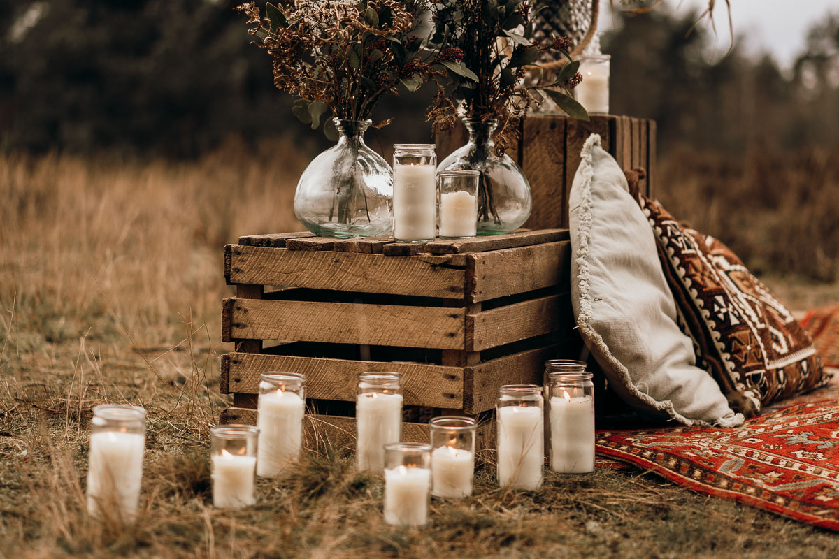 boho styled shooting