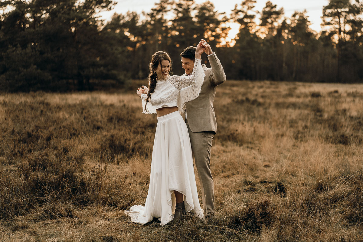 sunsetshooting wedding