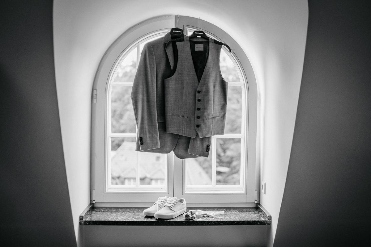 getting ready Hochzeit klosterpforte
