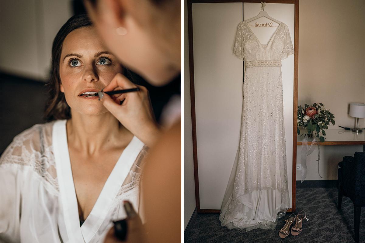 getting ready Hochzeitsfotograf niedersachsen