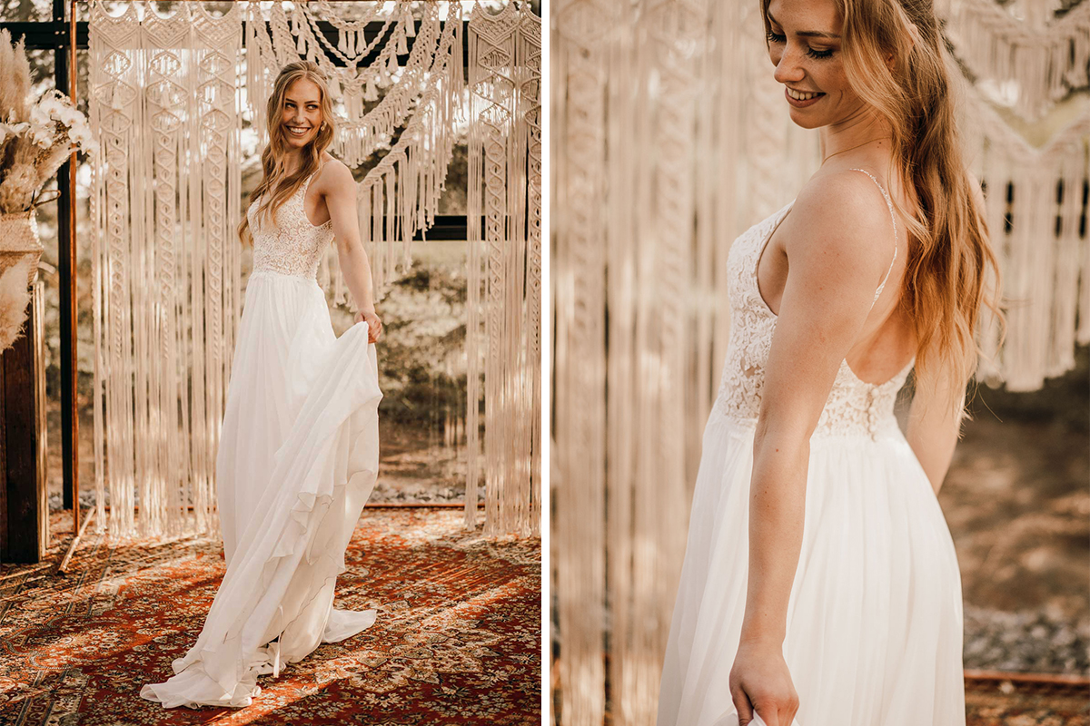 tiny wedding boho - Karina sowa